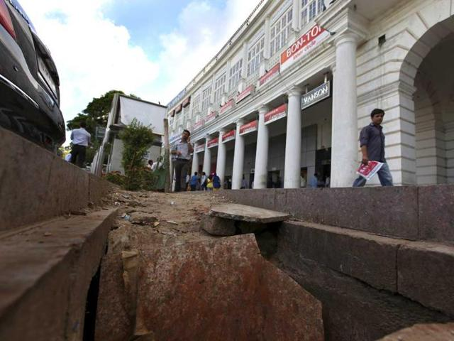 Connaught Place Redevelopment Plan,NDMC,New Delhi Traders' Association