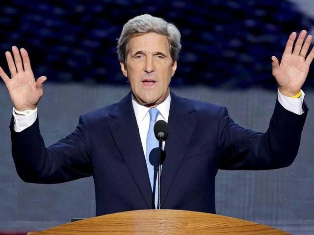 'Threat' will never deter US, Kerry says after Korea slashing incident
