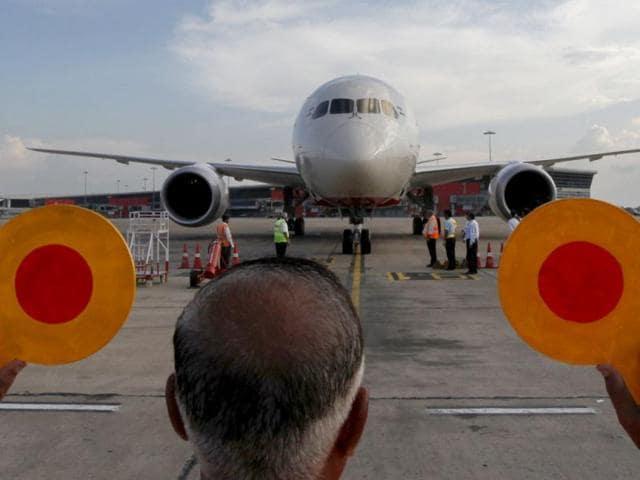 US-bound Air India flight