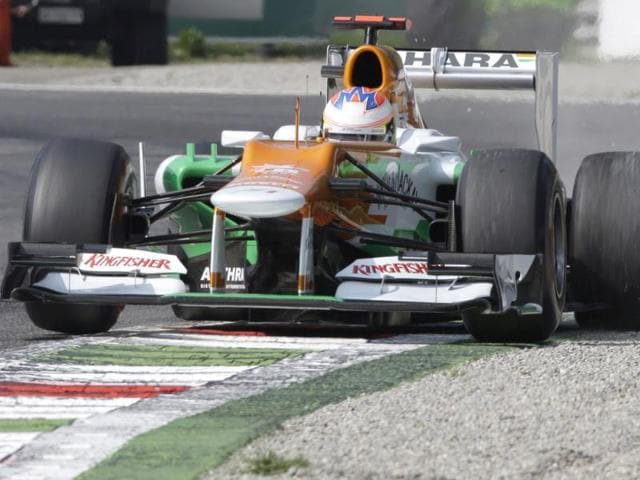 Force-India-driver-Paul-di-Resta-steers-his-car-during-the-third-free-practice-for-the-Italian-Formula-One-GP-Italy-AP-Photo