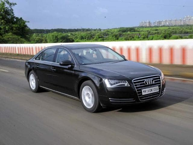 Diesel engines,Audi A8,with its 4.2-litre diesel engine