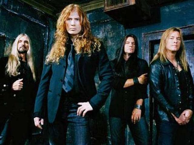Metal-band-Megadeth
