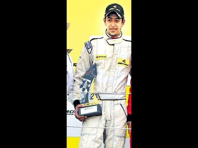 Vinayak Pande,JK Racing Asia Series,JKRAS