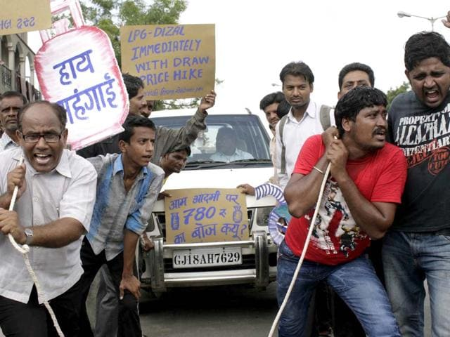 fuel price hike,UPA government,Rs 5 diesel price hike