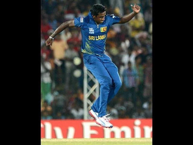 Ajantha-Mendis-celebrates-after-he-dismissed-Zimbabwe-s-cricketer-Prosper-Utseya-during-the-ICC-Twenty20-Cricket-World-Cup-match-between-Sri-Lanka-and-Zimbabwe-at-The-Mahinda-Rajapaksa-International-Cricket-Stadium-in-Hambantota-AFP-Photo-Ishara-S-Kodikara