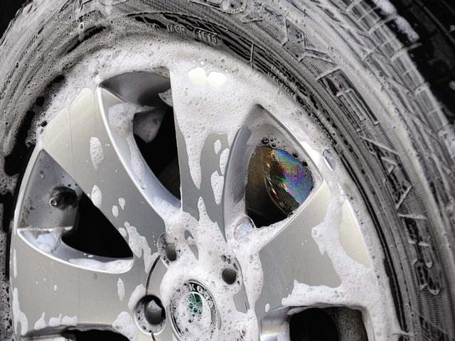 The tyres, which are the sole contact between the road and your car
