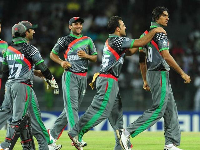 Afghanistan-cricketer-Shapoor-Zadran-R-celebrates-with-his-teammates-after-he-dismissed-Gautam-Gambhir-during-the-ICC-Twenty20-Cricket-World-Cup-match-between-India-and-Afghanistan-at-the-R-Premadasa-Stadium-in-Colombo-AFP-Lakruwan-Wanniarachchi