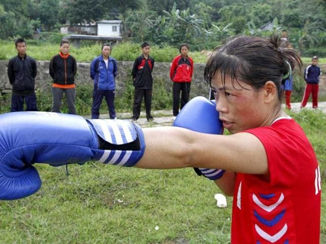 Mary Kom,Boxing,gold medal