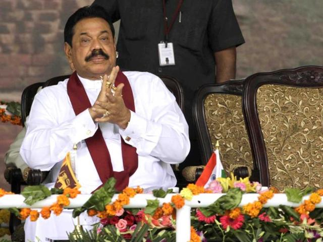 Sri-Lankan-President-Mahinda-Rajapaksa-attends-the-foundation-stone-laying-ceremony-for-the-International-Sanchi-University-of-Buddhist-and-Indic-Studies-at-Sanchi-AP-Photo