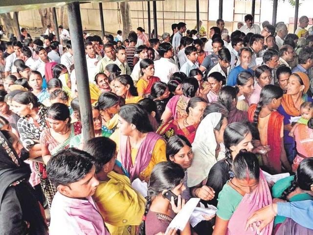 Around-3-000-people-line-up-daily-to-see-doctors-at-the-Lal-Bahadur-Shastri-Hospital-outpatient-department--Raj-K-Raj-ht-photo
