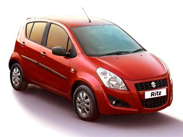 Maruti Ritz facelift launched,Ritz gets a mid-cycle styling update and a new top-end variant,new audio system with USB and electrically adjustable wing mirrors