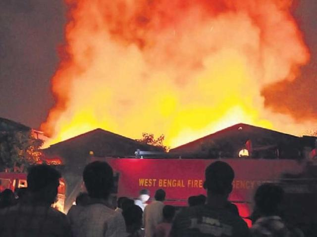 45 houses gutted, 300 rendered homeless in fire incidents