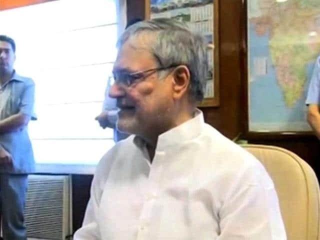 New-railway-minister-CP-Joshi-ANI