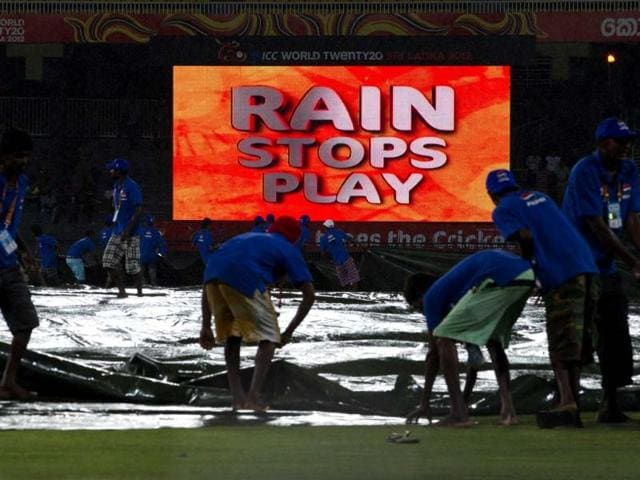 Ground-staff-pull-covers-over-the-ground-as-rain-stops-the-play-during-an-ICC-Twenty20-Cricket-World-Cup-match-between-Ireland-and-West-Indies-in-Colombo-Sri-Lanka-AP-Photo