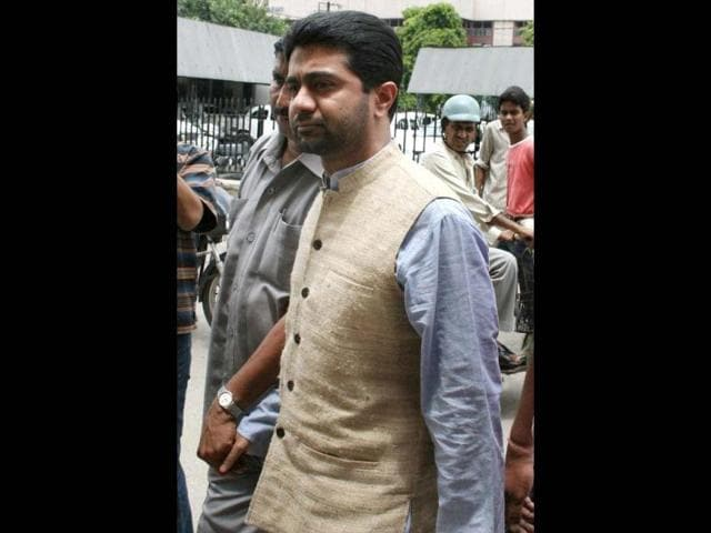 File-photo-of-businessman-Abhishek-Verma-Verma-Official-Secrets-Act-is-facing-CBI-probes-in-Official-Secrets-Act-case-for-getting-money-from-arms-firm-for-influencing-public-servants-and-for-forging-letters-of-sports-minister-Ajay-Maken-and-a-CBI-official-AFP-Photo