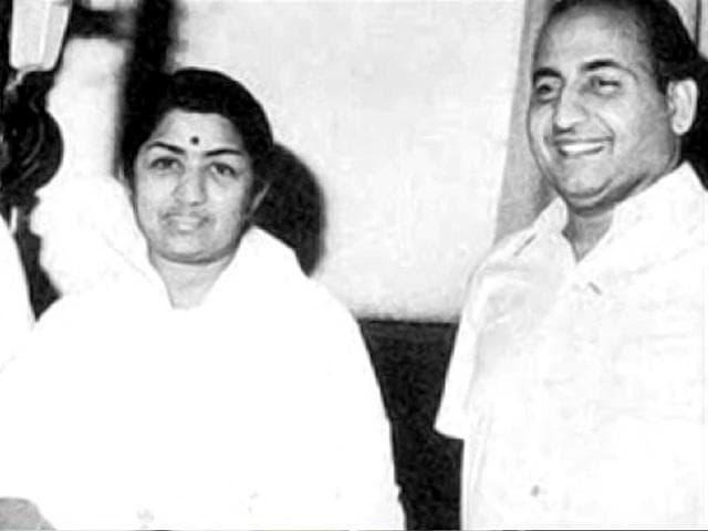 Lata Mangeshkar,Lt Mohd Rafi,Jaikishan