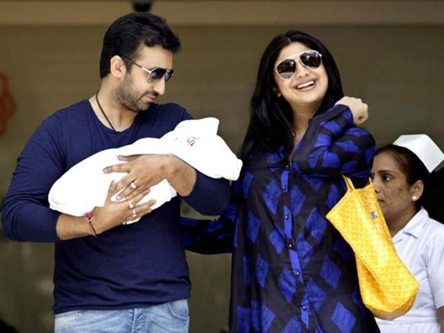 Shilpa-Shetty-is-now-married-to-London-based-business-man-Raj-Kundra-and-was-blessed-with-a-baby-boy-named-Viaan-on-May-21-2013