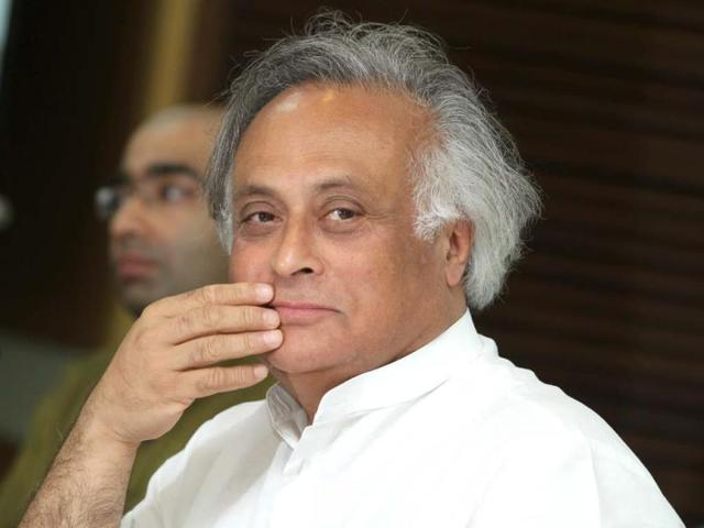 Congress-MP-Jairam-Ramesh-described-the-budget-as-a-dhan-wapsi-programme-Raajessh-Kashyap-HT-File-Photo