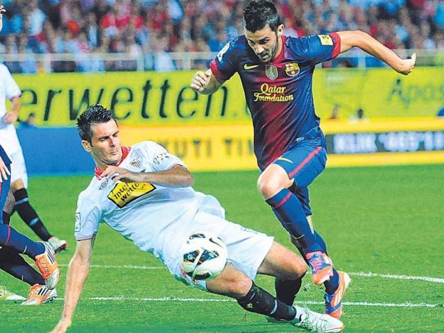 David-Villa-scores-the-winning-goal-against-Sevilla-on-Saturday-Getty-Image