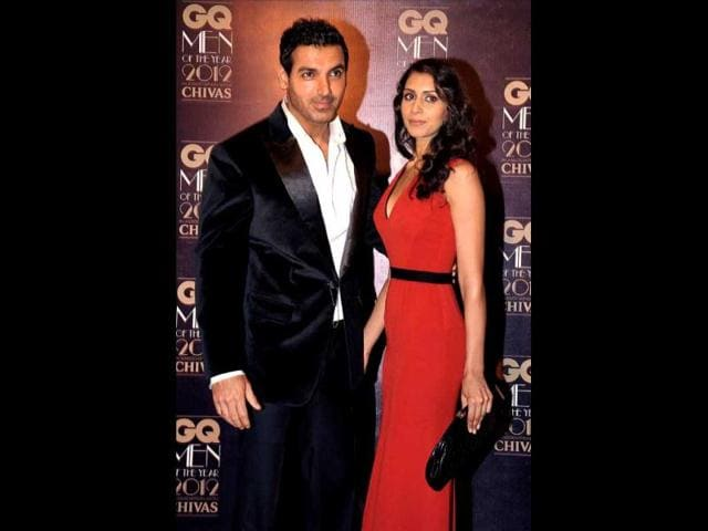 John-Abraham-with-his-wife-Priya-Runchal-at-the-60th-National-Film-Awards-in-New-Delhi-on-May-03-2013-HT-Photo