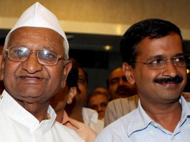 Anna Hazare,Arvind Kejriwal,Delhi