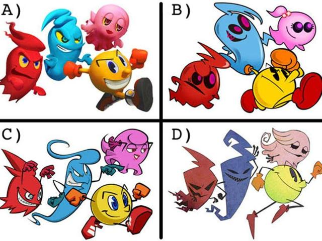 Four-possible-new-styles-for-Pac-Man-Photo-AFP