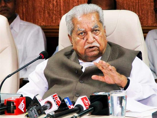 Keshubhai Patel,Gujarat's former chief minister,Bharat Patel