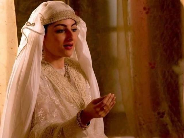Soha Ali Khan in a still from Deepa Mehta's Midnight's Children.