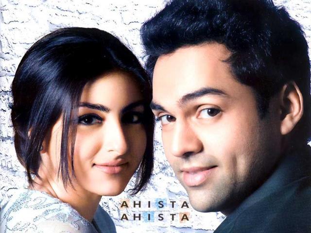 Soha Ali Khan starred opposite Abhay Deol in Ahista Ahista.