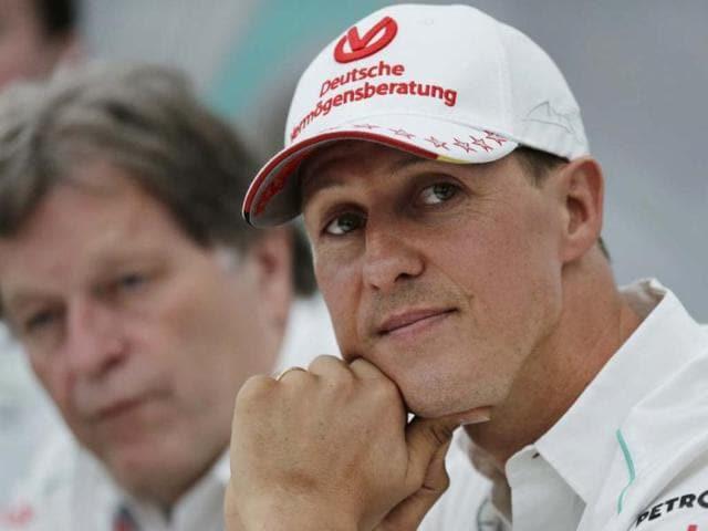 Michael Schumacher,hindustan times,news