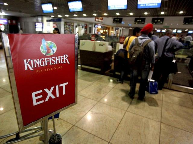 Kingfisher employees protest ahead of RCB vs MI Indian Premier League match