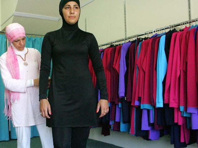 Some-hotels-have-women-only-beach-areas-with-Islamic-swimming-etiquette-also-known-as-the-burqini-Photo-AFP-Anoek-De-Groot