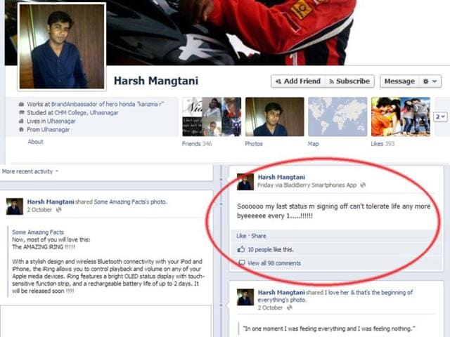 Screen-shot-Facebook-page-of-Mumbai-boy-Harsh-Mangtani-21-who-jumped-to-death-after-writing-a-suicide-note-on-the-social-networking-site