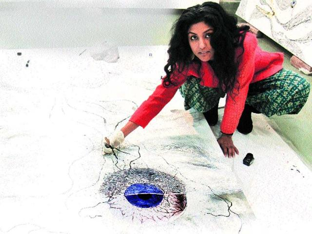 Evolving-and-how-Many-artists-like-Nandita-Kumar-right-are-taking-to-various-media-other-than-the-canvas