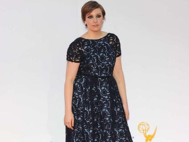 Lena-Dunham-at-the-2012-Emmy-Awards-where-Girls-won-for-Outstanding-Casting-for-a-Comedy-Series-Photo-AFP-Robyn-Beck