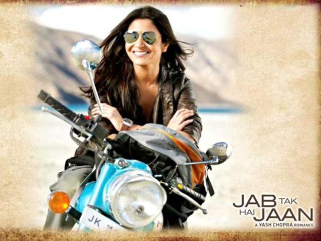 Anushka Sharma in a still from Jab Tak Hai Jaan.