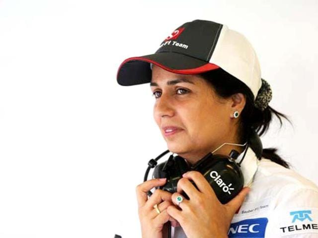 Monisha Kaltenbornbecame,formula one,news