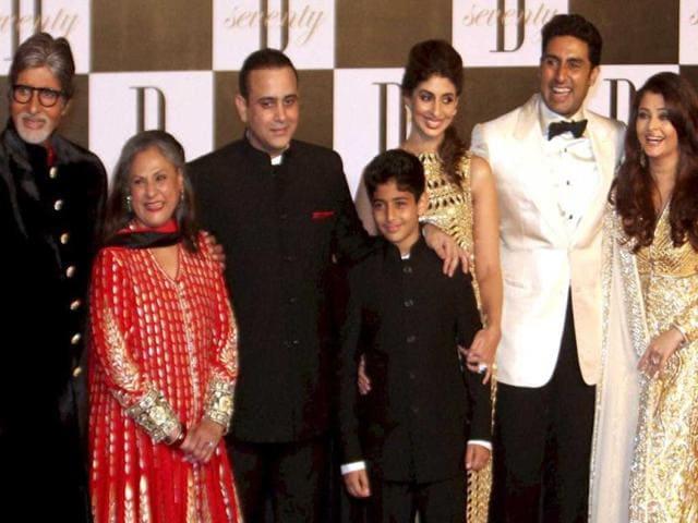 Amitabh bachchan,Abhishek Bachchan,Jaya Bachchan