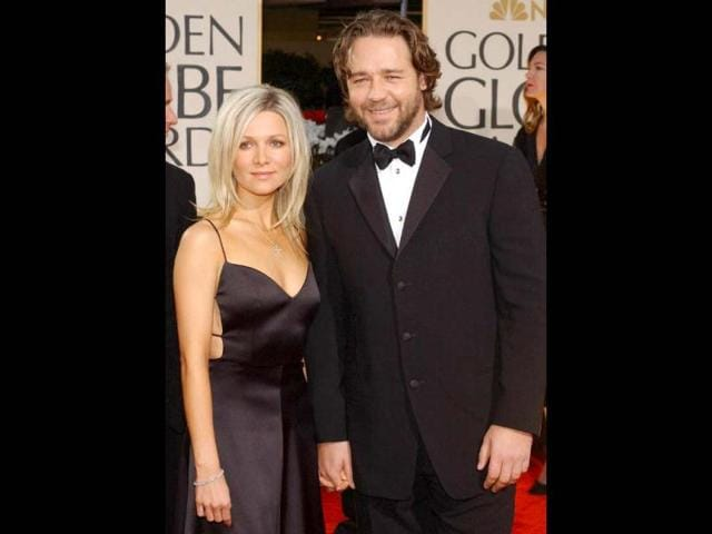 Actor-Russell-Crowe-with-wife-Danielle-Spencer-