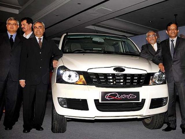 Mahindra Quanto launched,Quanto mini-SUV,SUV