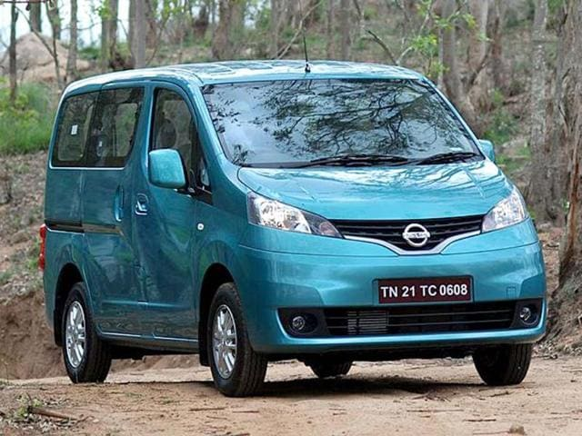 Nissan Evalia launched,Evalia MPV,XV