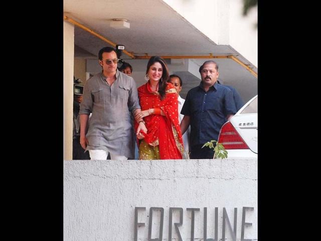Kareena Kapoor,Saif Ali Khan,honeymoon