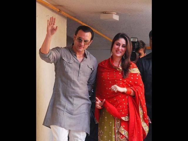 Saif Ali Khan,Kareena Kapoor,official marriage