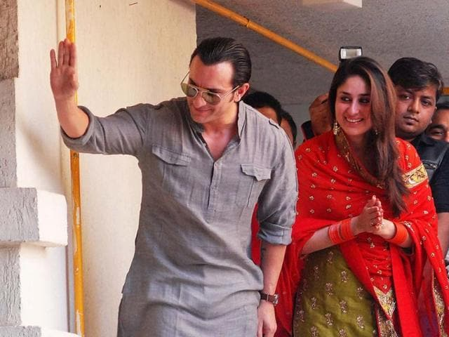Saif Ali Khan and Kareena Kapoor will not have a Catholic wedding. It was reported that the couple will exchange vows in the church on the insistence of Kareena's parents,Randhir Kapoor and Babita,as the latter is a practising christian.