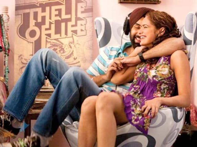 Ranbir as Sardar Harpreet Singh Bedi and Shazahn as the bubbly Sherena looked rather cute together in Rocket Singh.