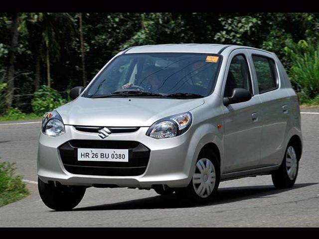 Maruti's 'Fab Four' lead pack among India's favourite cars