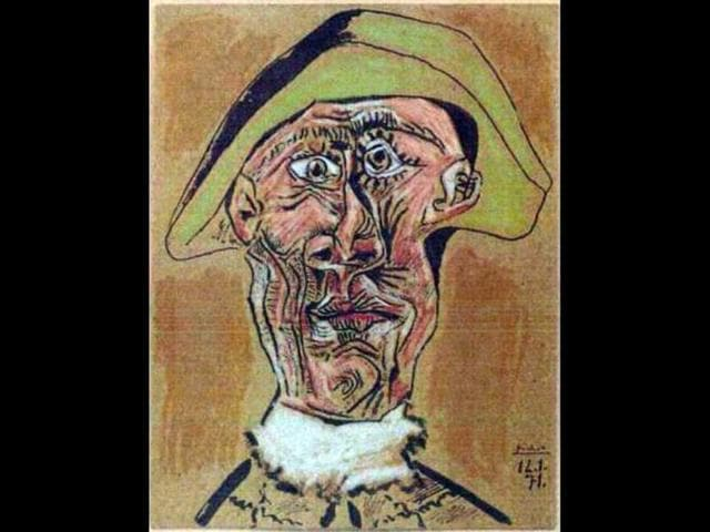 This-photo-released-by-the-police-in-Rotterdam-Netherlands-shows-the-1971-painting-Harlequin-Head-by-Pablo-Picasso-AP-Photo-Police-Rotterdam-