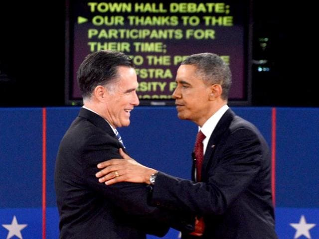 US-Republican-presidential-nominee-Mitt-Romney-and-US-President-Barack-Obama-shake-hands-at-the-conclusion-of-the-second-US-presidential-campaign-debate-in-Hempstead-New-York-Reuters-Jim-Young