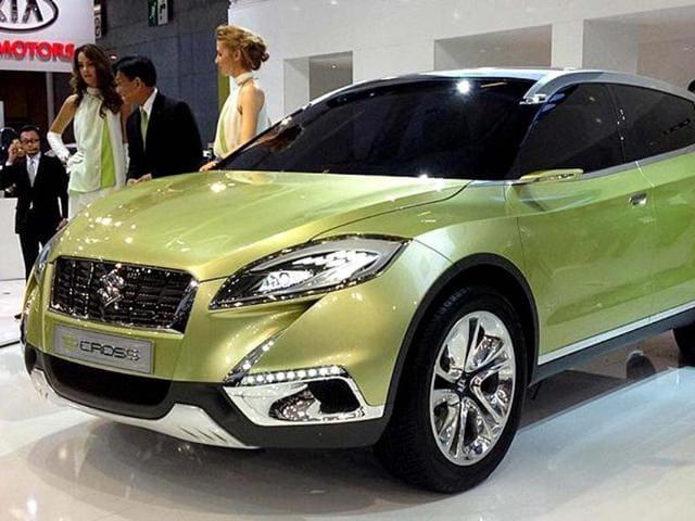 Suzuki S-Cross concept revealed