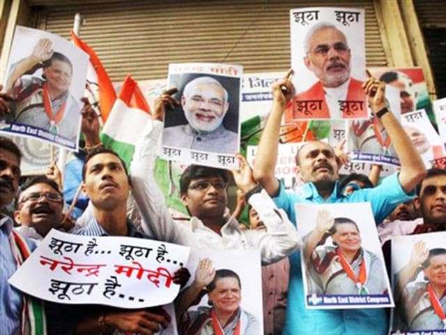 A-file-photo-of-Congress-workers-in-Mumbai-protesting-against-Narendra-Modi-for-his-comments-on-Sonia-Gandhi-PTI